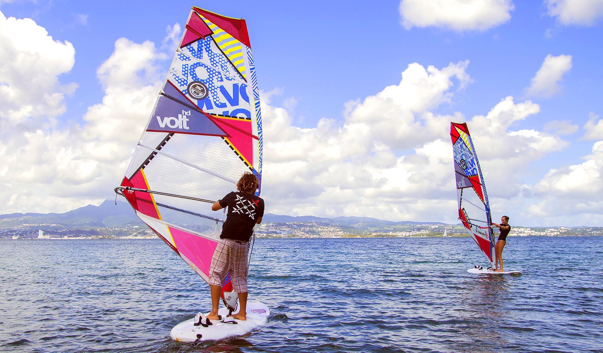 Apprendre le windsurf en Martinique