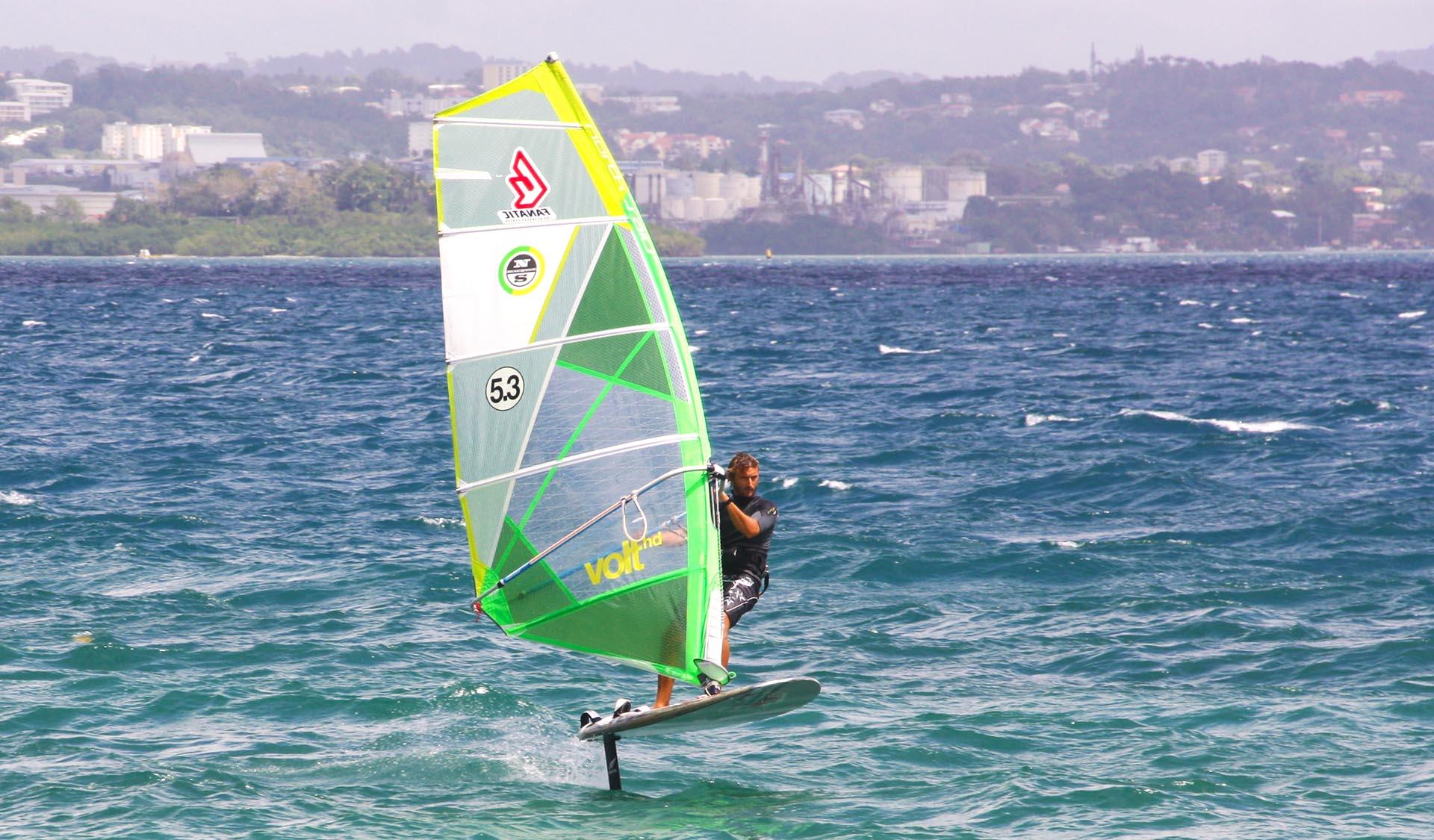 Windsurf FOIL en Martinique