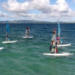 Cours collectifs de windsurf en Martinique