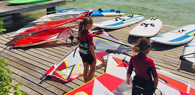 Le matos de windsurf